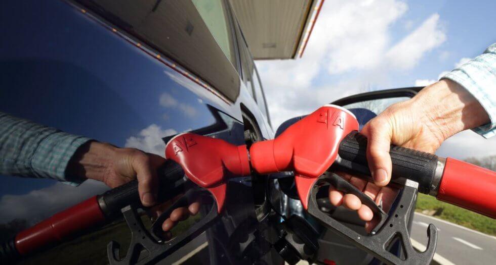 gasolina de boa qualidade